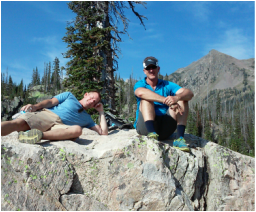 Hiking in Mt. Zirkel Wilderness area