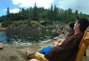 Strawberry Park Hot Springs in Steamboat